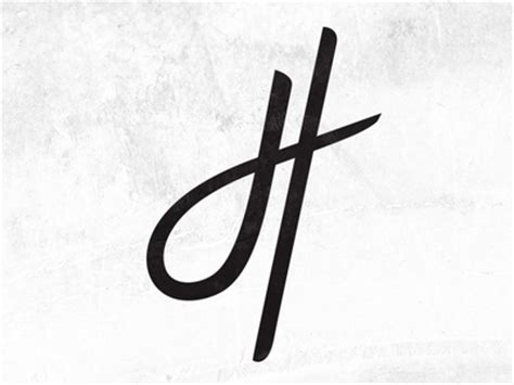 how to write the capital letter h in cursive